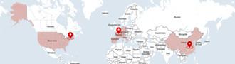 Carte des sociétés du Groupe Autajon